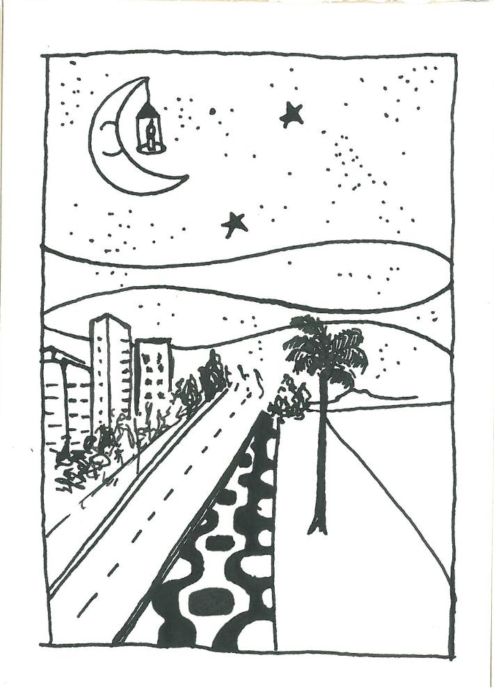 Nanquim sobre papel. Paloma Villela.