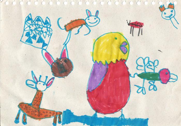 Illustration: Emma (5 years old)