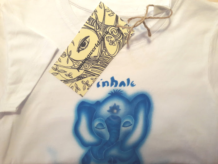"Blue elefant ""inhale exhele"""